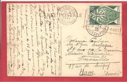 Y &T N°211   VERSAILLES  Vers HAM 1925 VOIR LES 2 SCANS - Covers & Documents
