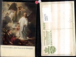 258275,Künstler AK G. Van Den Eckhout Jakobs Traum Von D. Himmelsleiter Engeln Engel - Engel