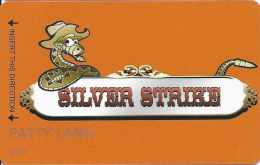 Silver Strike Casino - Silver Springs, NV - 1st Issue Slot Card  (PRINTED) - Casino Cards