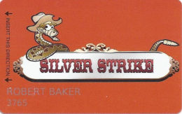 Silver Strike Casino - Silver Springs, NV - 2nd Issue Slot Card    (PRINTED) - Casino Cards