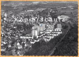 CH - Schlieren B. Dietikon ZH - Teilansicht - Flugaufnahme Neues Wohnquartier Kampstrasse - Gel. 1966 - ZH Zurich