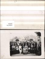 260284,Foto AK Hochzeit Gruppenfoto - Hochzeiten