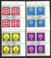 1989 Vaticano Vatican CONGRESSO SEUL  SEOUL 4 Serie Di 4v. USATE Con Gomma Used With Gum - Used Stamps