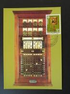 Carte Maximum Card Telegraphe Telegraphy Onlit. Musée Postal Europa Luxembourg 1980 - Telecom