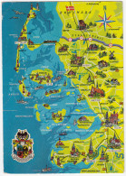 Dänemark - Deutschland: Nordfriesiche Inseln (Sylt, Föhr,Japsand Usw) - Friedrichtstadt - Tondern - Landkaarten