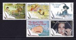 New Zealand 2013 Margaret Mahy  Children's Author Set Of 5 As Block MNH - New Zealand