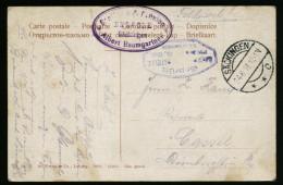 A4068) DR Karte Von Säckingen 24.8.16 Mit Zensur XIV. Armeekorps Nach Cassel - Deutschland