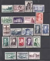 Année Complète 1952 En Timbres Oblitérés - Cote : 106 € - 1950-1959