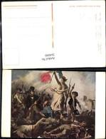 264090,Künstler Ak Eugene Delacroix The Barricade Französische Revolution Geschichte - Geschichte