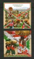 Burundi ** Folklore , Musik Tanz // 2 Mnh Sheets - Tanz