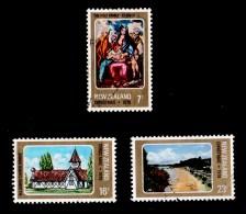 New Zealand 1978 Christmas Set Of 3 Used - New Zealand