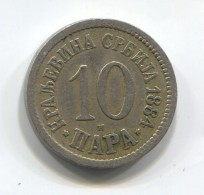 KINGDOM OF SERBIA - 10 Para, 1884. - Serbie
