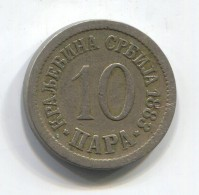 KINGDOM OF SERBIA - 10 Para, 1883. - Serbie