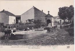 CHAMPIGNY-les-LANGRES - La Vieille Fontaine- Lavoir Et Abreuvoir - Animé - Frankrijk
