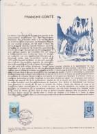 DOCUMENT PHILATHELIQUE FRANCHE COMTE - Documentos Del Correo