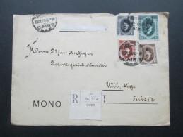 Ägypten 1925?! MiF Registered Letter No 112 Cairo. Monos / Kunstblätter. Monographie - Ägypten