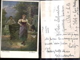 264520,Künstler Ak Hans Zatzka Die Müllerin Frau A. Brunnen - Zatzka
