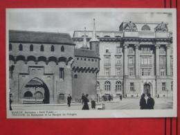 Kraków / Krakau - Barbakan I Bank Polski - Polen