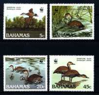 E10291)WWF, Bahamas 672/5** - W.W.F.