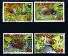 E10588)WWF Niuafo `Ou 233/6** - Unused Stamps