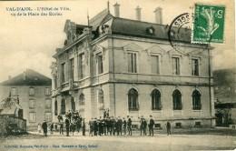 Val D´ajol L'hotel De Ville Vu De La Place Des Ecoles Collection Heymann Circulee En 1912 - Frankrijk