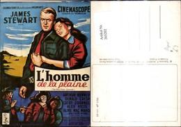 265202,Repro Reklame L Homme De La Plaine James Stewart CP 111 No 1733 Kinoplakat - Pubblicitari