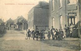59 - NORD - Louvroil - Route D'Hautmont - Estaminet - Louvroil