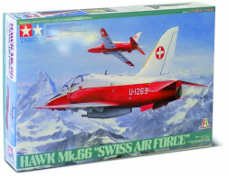 Hawk Mk.66 Swiss Air Force 1/48 (  Tamiya ) - Airplanes