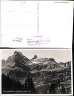 277141,Braunwald M. Ortsstock U. Hoher Turm Bergkulisse Kt Glarus - GL Glarus