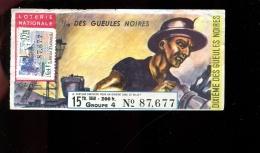 THMS LOTERIE Gueules Noires - Billets De Loterie