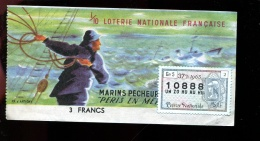 THMS LOTERIE Marins Pêcheurs Péris En Mer - Billets De Loterie