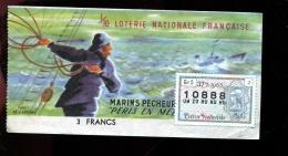 THMS LOTERIE Marins Pêcheurs Péris En Mer - Lottery Tickets