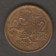 NORVEGIA 2 ORE 1965 - Norvegia