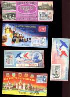 THMS LOTERIE Lot De 9 Billets LT3 - Lottery Tickets