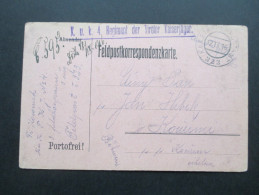 Österreich 16 Feldpost KuK Etappenpostamt 323 KuK 4. Regiment Der Tiroler Kaiserjäger - 1850-1918 Imperio