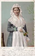 La LORAINE -Lothringerin   1902 Cachet WINTERTHUR Au Dos - Kostums