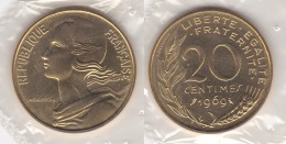 20 CENTIMES - LAGRIFOUL 1969 FDC Sous Blister  (voir Scan) - Francia