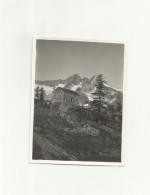 130799 PICCOLA  FOTO  MONTAGNA ALPINISMO LUOGO SCONOSCIUTO - Briefmarken