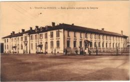88 - Cpa - THAON LES VOSGES - Ecole Primaire Supérieure De Garçons - Thaon Les Vosges