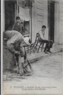 CPA GRECE Non Circulé Types Salonique Métier Remouleur Vardar - Grecia