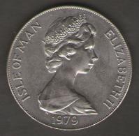 ISLE OF MAN ONE CROWN 1979 MILLENNIUM OF TYNWALD - Monete Regionali