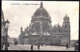 SCHAERBEEK - SCHAARBEEK - L'église Ste - Marie --- Niet Courante Versie ! - Schaarbeek - Schaerbeek
