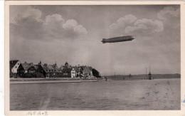"""Luftschiff """" Graf Zeppelin """", Fahrt Nach Den Niederlanden,  Abwurf Groningen Ab Enschede - Nederland"""
