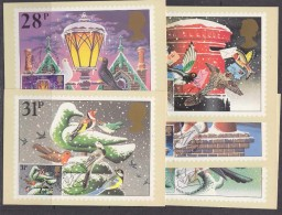 Great Britain 1983 Christmas  5v 5 Maxicards (31192) - Maximumkaarten