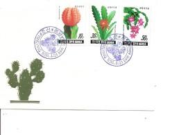 Cactus ( FDC De Corée Du Nord De 1990 à Voir) - Cactus