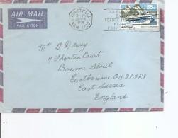 Australie ( Lettre Par Avion De 1979 De Hurstville Vers La Grande-Bretagne à Voir) - 1966-79 Elizabeth II