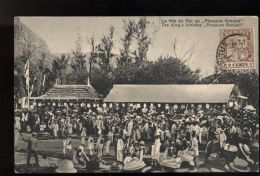 T461 MAURITIUS - PORT LOUIS - KING'S BIRTHDAY AT PLEASURE GROUND / FÊTE DU ROI AU PLEASURE GROUND - TRÈS RARE TRÈS ANIMÉ - Mauritius