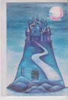 CPM 10X15 . CARTE PUZZLE  . Chateau D´eau  . Illust . Martine PELISSIER - Other