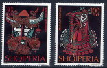 ALBANIA 1999 Carnival Masks Set Of 2  MNH / **.  Michel 2718-19 - Albania