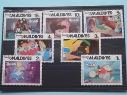 Alice In Wonderland Maldives - VOIR PHOTO ...... Start à 1.25 Euro..........?? ( Zie/voir Foto Voor/pour Détails ) !! - Maldives (...-1965)